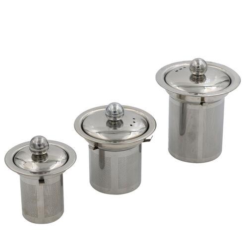 Reusable Mesh Infuser Tea Strainer Leaf Spice Filter Stainless Steel forTeapo LL