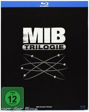 MEN IN BLACK TRILOGIE (Will Smith, Tommy Lee Jones) 3 Blu-ray Discs NEU+OVP