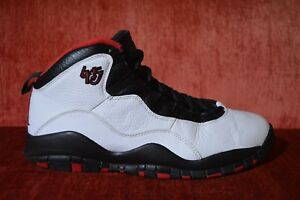 finest selection 77ce6 2bd30 Image is loading Nike-Air-Jordan-Retro-X-10-Chicago-White-