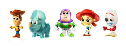 Disney Pixar Toy Story 4 Minis 5 Pack In Exclusive Box NEW!