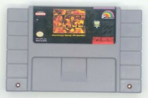 WWF-Raw-Super-Nintendo-SNES-1994-Cartridge-Only
