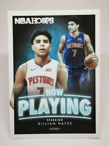 Panini Hoops 2020-21 N19 card NBA Now Playing RC Rookie #SS-13 Killian Hayes
