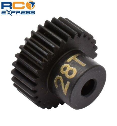 Hot Racing 28t 48p Hardened Steel Pinion Gear 1//8 Bore CSG1828