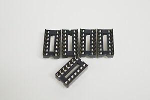 5pk-14-Pin-Soldertail-IC-Sockets