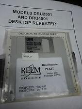 Relm Repeater Base Software Dbrpcd Dbx Dbu Drxpc Dru2501 Dru2501c Dru Pckit