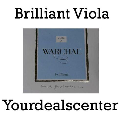 """Warchal Brilliant Viola String Set 16/""""-17/"""""""