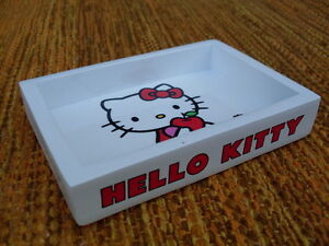 Hello Kitty Accessori Bagno.Dettagli Su Portasapone Apple Hello Kitty Soap Dish Porte Savon Jabonera Accessori Bagno Hk