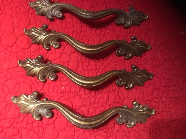 4 Keeler Antique Br Drawer Pulls 7 1