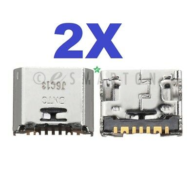 """2X Samsung Galaxy Tab A 8/"""" 2018 SM-T387 Dock Connector USB Charger Charging Port"""