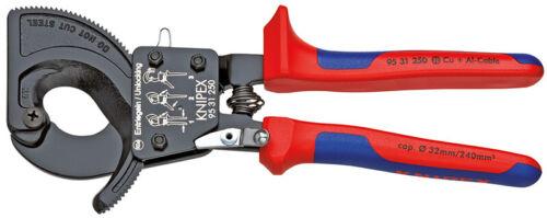 Knipex Câble Schneider Cliquet principe avec étiquettes-Enveloppes 250 mm