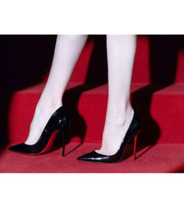 120 Stilettos Schwarz Gr 5 Christian So 37 Louboutin In Kate Lackpumps vWYOtf8O