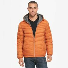 Wilsons Leather Mens Web Buster Hooded Reversible Quilted Puffy Jacket