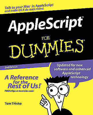 1 of 1 - AppleScript for Dummies-ExLibrary