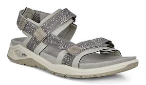 ecco Damen Freizeit Sandalen Outdoor-Sandalen X-TRINSIC SANDAL wild dove