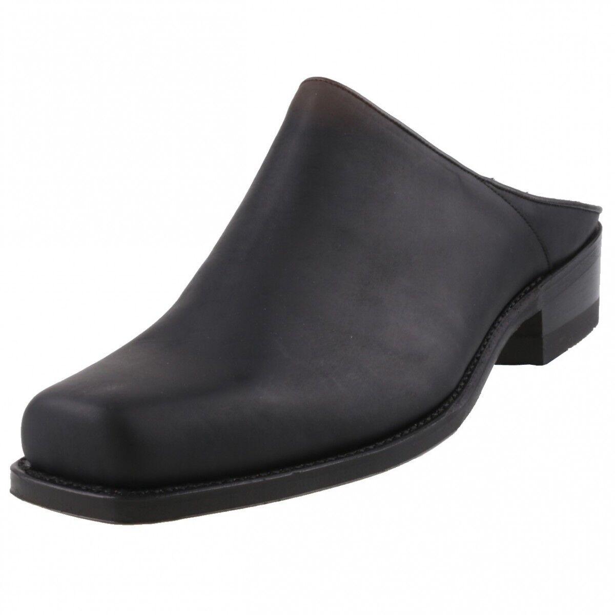 Neu SENDRA Stiefel Herrenschuhe Clogs Sabotschuhe Sabot Leder Schuhe Biker-Schuhe