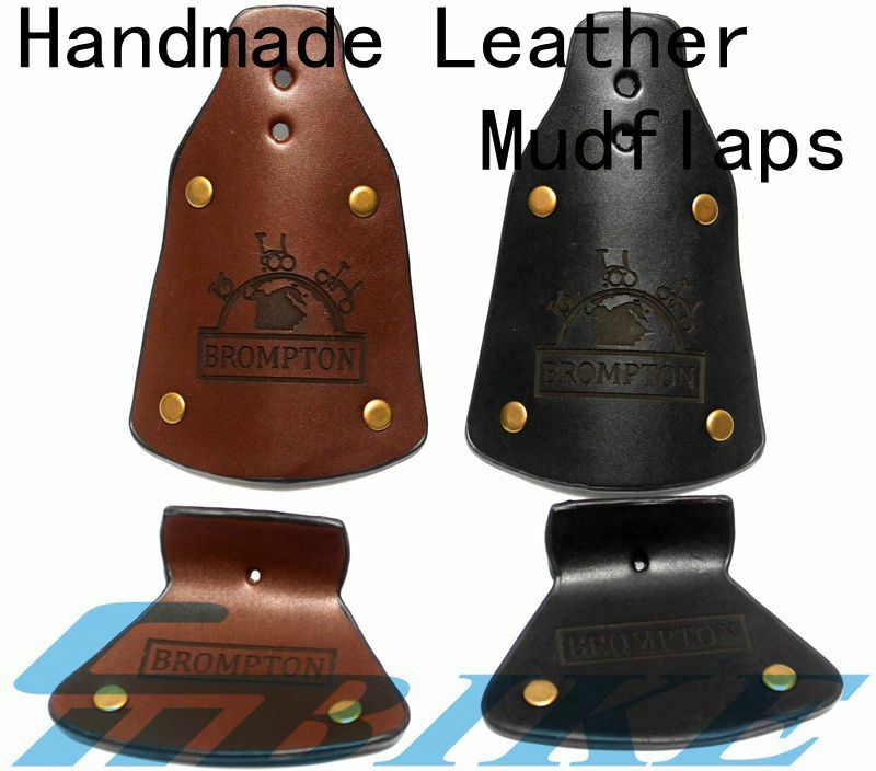 ACE Handmade Leather Mudflap Mudguard for Brompton Bicycle  folding bike  cheap sale outlet online