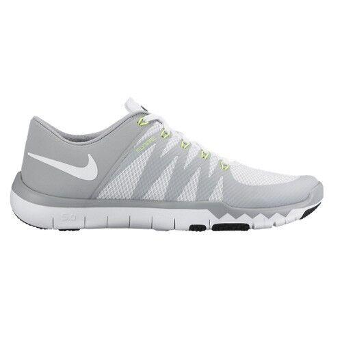 Nike Free Trainer 5.0 V6 Cross Training Mens shoes White Grey 719922-100 Size 13