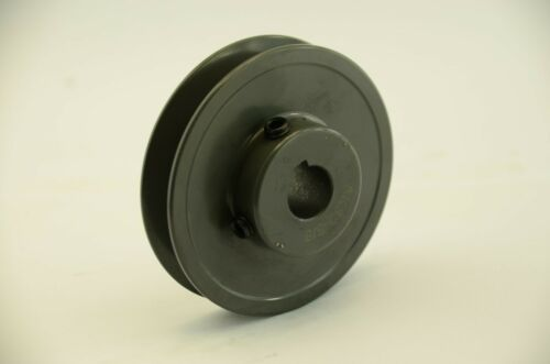 "AK20-5//8 5//8/"" Bore 2.0/"" OD Cast Iron 1 Groove Pulley A//4L 1//2/"" Belts"