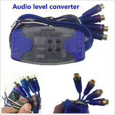 Car Stereo Audio Speaker Wire to 4 RCA Line Level Converter ...