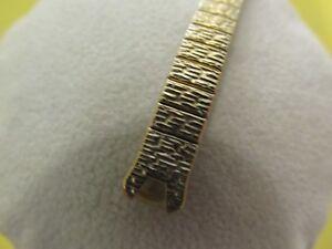 Speidel-Ladies-Vintage-Gold-Filled-Watch-Band-5-3-4-034-10-034-Stretch