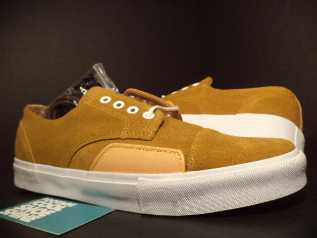 Vans ZERO 0 Lo SYNDICATE S LUKE MEIER GOLDEN BROWN CURRY WHITE VN-0KYH1M9 DS 10