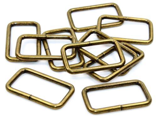 Cuatro cantos anillo pasodel acero altmessing 30mm 10 piezas