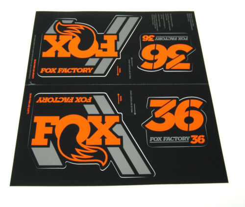 40 // Fork 2020 Fox Racing Shox Heritage Decal Kit // 32 34 36 Shock