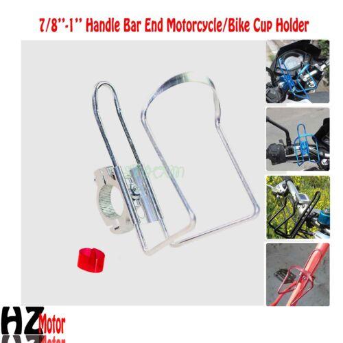 Motorcycle Silver Drink Bottle Holder Fit Yamaha Road Star Silverado Midnight XV