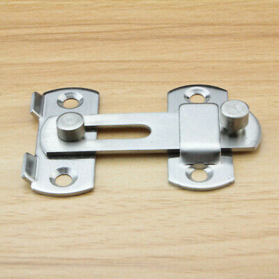 1pcs Stainless Steel Gate Shed Door Lock Bolt Slide Latch Catch Home Security