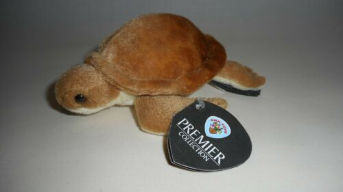 PLUSH SEA QUALITY BRAND NEW BABY BROWN TURTLE SOFT TOY CUDDLY CUTE