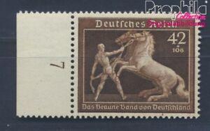 Allemand Empire 699 Neuf 1939 Que Brune Cravate Courses De Chevaux (8496720