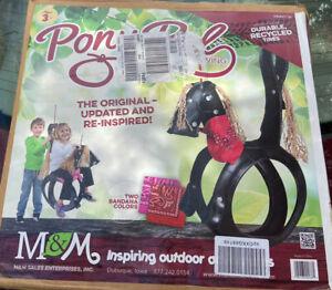 Pony Pal Horse Pony Outdoor Tire Swing Outdoor Tree Swing 175lb Capacity