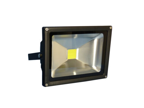 12 Voltios 10 Watt LED luz de inundación garaje y patio Caseta granero