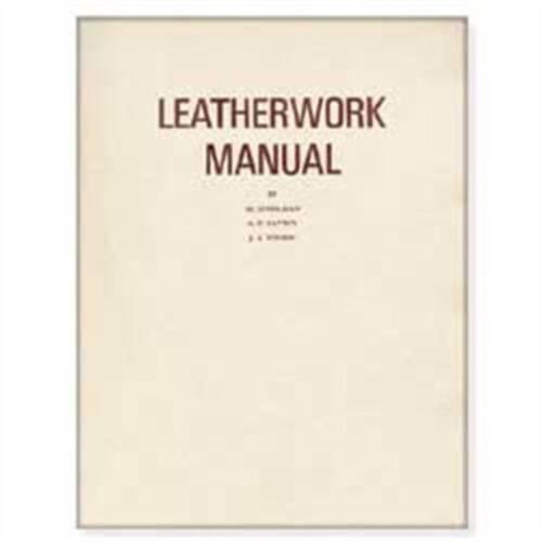 Travail du Cuir Artisanat Manuel d/'instruction Stohlman 61891-00 by Tandy leather