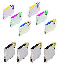 WE1286 10 CARTUCCE COMPATIBILI per Epson  T1281 T1282 T1283 T1284 T1285
