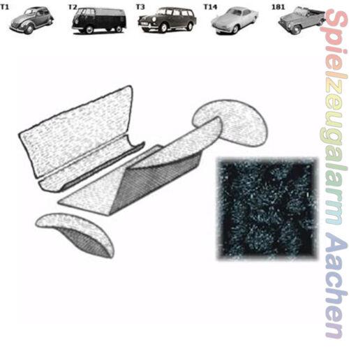 VW Käfer Fond Stauraum Teppich #594  für T1 ab 8//72» schwarz TMI Profi Qualität