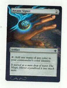 Arcane-Signet-Altered-Art-MTG-Magic-Commander-EDH-Full-2020-Gift-Birthday