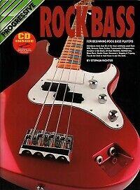Progressive Rock Bass Book /& Cd Bass Guitar S.Richter 9319976726410
