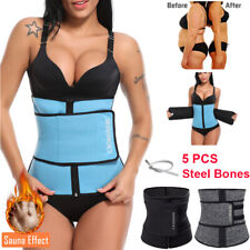Fajas Colombianas Body Shaper Slimming Wrap Belt Waist Cincher Corset Trainer XL