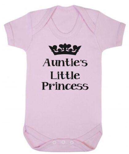 Tantes petite princesse rose coton doux Body New Baby Shower Cadeau nièce