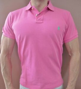 35f81dba4 New NWT Mens Polo Ralph Lauren Polo Shirt Muscle Custom Fit Medium ...