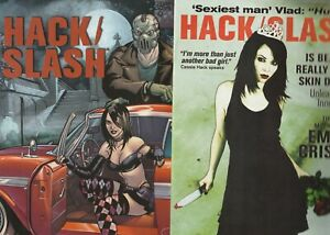 HACK AND SLASH 14 COMIC LOT ALL FPLUS TO NM IMAGE/ DDP    HORROR