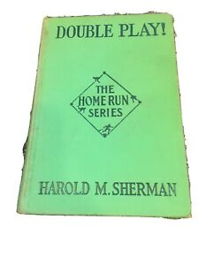 Vintage-1932-Double-Play-by-Harold-M-Sherman-Baseball-Book-HC