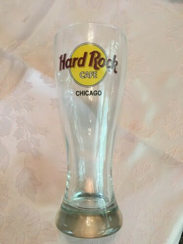 Hard Rock Pilsner Glass Discontinued Collectible -Choose Chicago Philly Foxwoods