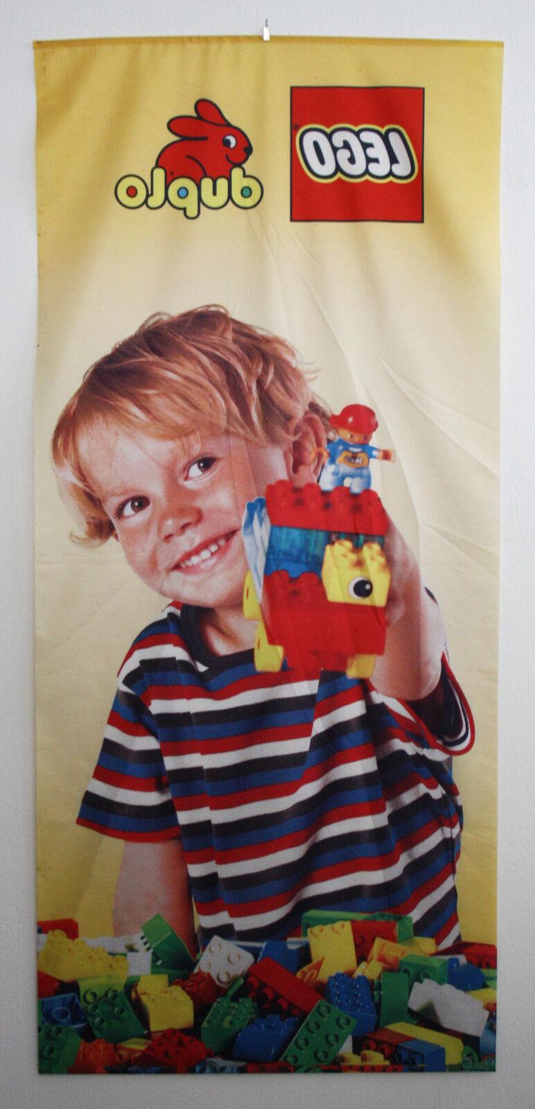 LEGO DUPLO DOUBLE SIDE SHOP DISPLAY BANNER 89cm 89cm 89cm X 2m   9515c3