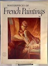 Masterpieces of French Paintings, Abrams Art Book, 16 Frameable prints, 1955