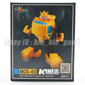 KBB-Bumblebee-G1-Transformers-Action-Figure-Pocket-Robot-Car-Kid-Toy-In-Stock