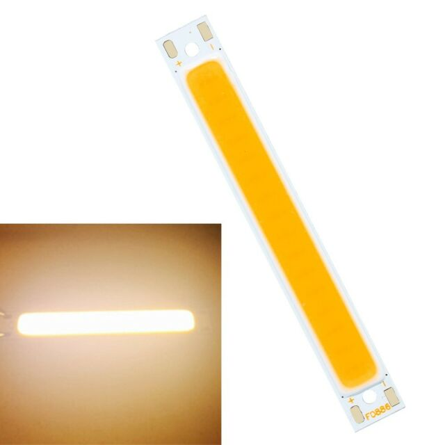 Hot Ultra Bright COB LED Pure/Warm White Red Strip Light Lamp Bead Chip diy 12V