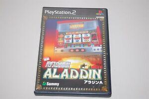 Jissen Pachi-Slot Hisshouhou! Aladdin A Japan Sony Playstation 2 PS2 game