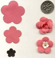Small Ume / Plum Blossom Paper Punch By Punch Bunch Quilling-scrapbook-cardcraft